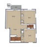 Two Bedroom Small