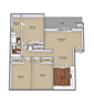Three Bedroom Large