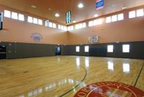 Indoor Basketball Court!