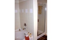 Shower and Separate Tub
